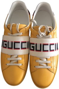 Gucci Yellow/ red flame Athletic