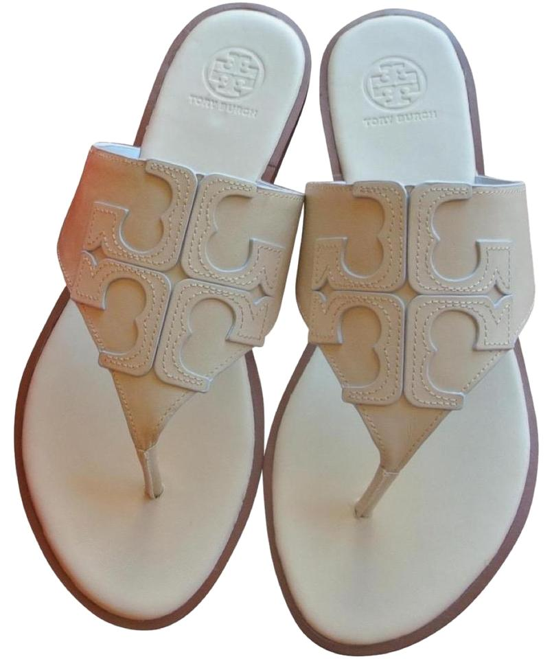 cb40b990b Tory Burch White Jamie End-of-summer-sale Dulce De Leche Full Logo ...