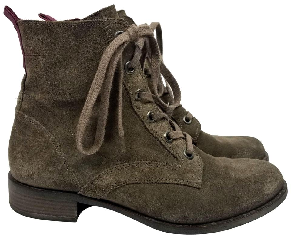 b4fab75fbe1d Paul Green Brown Suede Lace Up Boots Booties Size US 9 Regular (M
