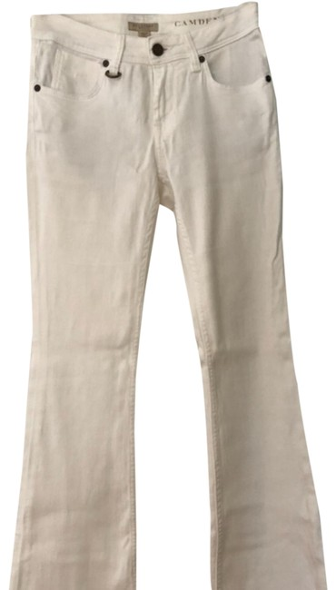 Item - White Women's Denim Pants Flare Leg Jeans Size 4 (S, 27)