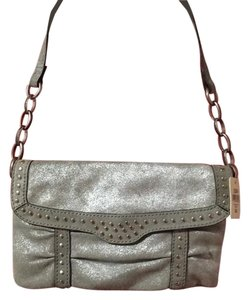 Fossil Pewter Clutch