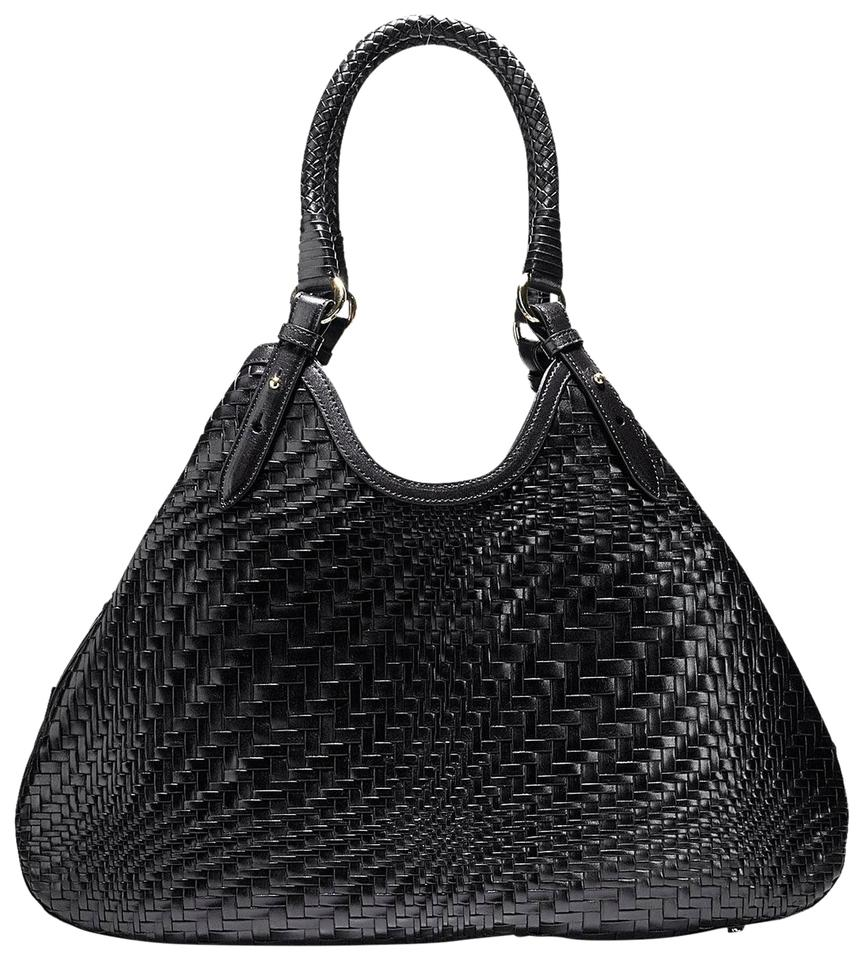 32030b8ab6 Cole Haan Genevieve Black Patent Leather Hobo Bag - Tradesy