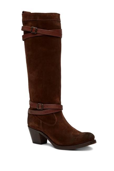 Item - Brown Jane Strappy Tall Boots/Booties Size US 6.5 Regular (M, B)