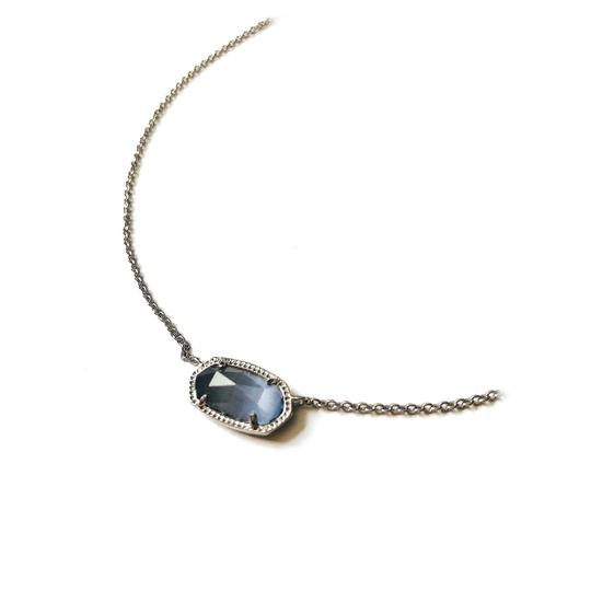 Kendra Scott Brand New Kendra Scott Elisa Necklace in Slate Glass