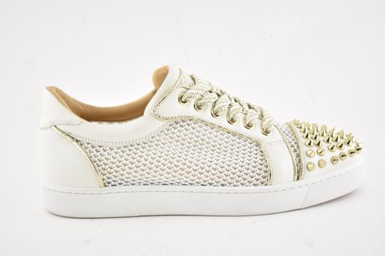 6b7252dfe221 ... Christian Louboutin Flat Spike Sneaker Trainer Vieira white Athletic  Image 1