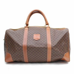 Céline Duffle Boston Keepall Brown Travel Bag