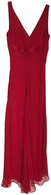 Item - Red Rn80734 Ca31458 Long Cocktail Dress Size 0 (XS)