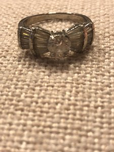 Sterling 925 with Cz Bow Ring