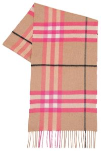 Burberry Burberry Fluro Giant Check Wool Scarf