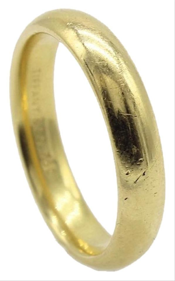 Tiffany Co Yellow Gold Wedding Band Size 9 5 Men S Ring Tradesy