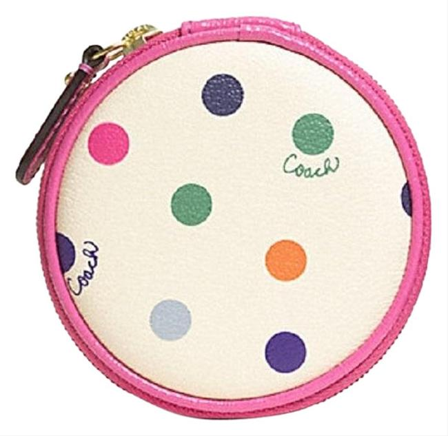 Item - Multi-colored Nwt- Polk Dot Pouch/Case #f62341