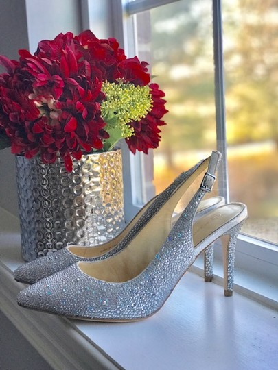 Judith Leiber silver Pumps Image 1