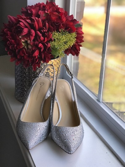 Judith Leiber silver Pumps Image 2