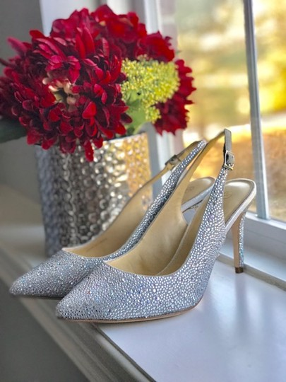 Judith Leiber silver Pumps Image 4