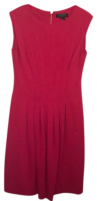 Item - Pink 0026302570 Mid-length Cocktail Dress Size 4 (S)