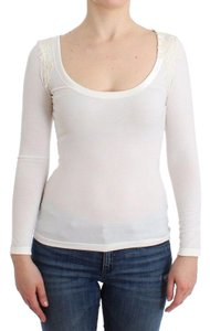 Ermanno Scervino D12007-2 Women's Lingerie Jumper Rayon Sweater