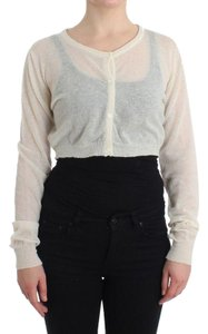 Ermanno Scervino D11518-1 Women's Lingerie Cropped Sweater