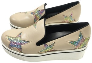 Stella McCartney sand / rainbow / black Platforms
