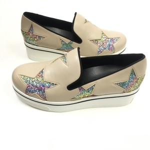 Stella McCartney sand - rainbow - black Platforms