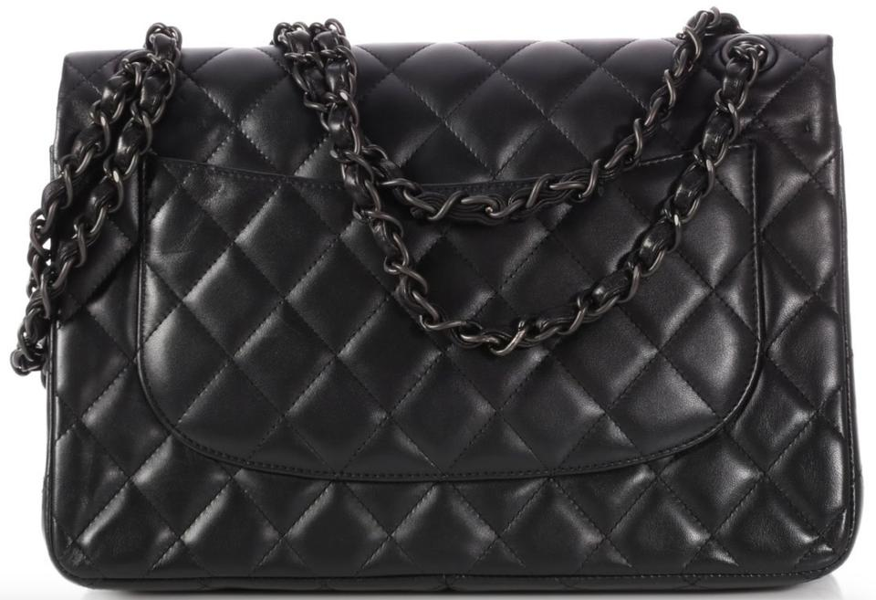3940193a2732 Chanel Classic Flap Classic Jumbo Double Rare Limited Edition So ...