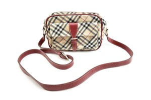 Burberry London Nova Check Cross Body Bag
