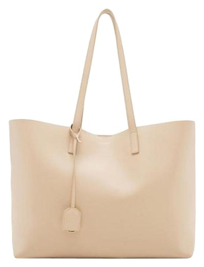 Preload https://img-static.tradesy.com/item/24537313/saint-laurent-monogram-shopping-shopper-poudre-beige-leather-tote-0-1-540-540.jpg
