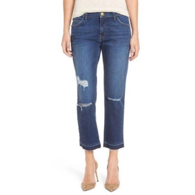 Item - Blue Distressed Current/Elliot Cropped Straight Leg Jeans Size 30 (6, M)