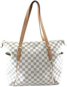 7918f0f0e147 Louis Vuitton Totally  24717 Mm Zip Zipper Top Tote Work Everyday ...