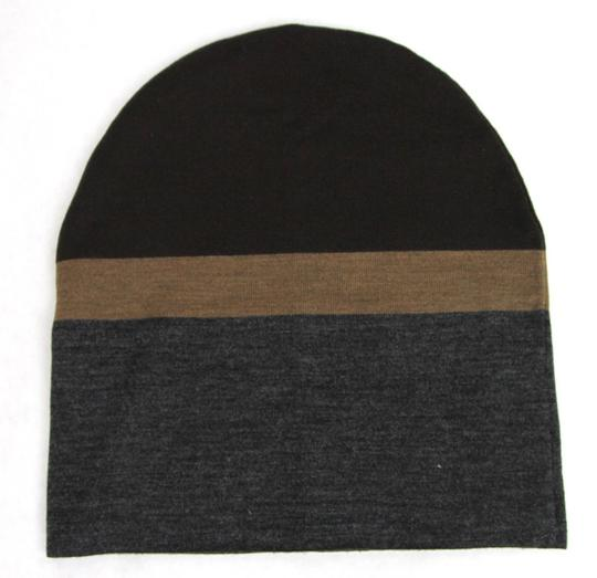 Gucci New Gucci Brown Gray Wool Beanie Hat w/Logo Size L 353999 2162 Image 4
