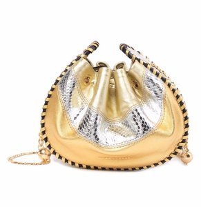 Marc Jacobs Snake Embossed Sway Leather Cross Body Bag