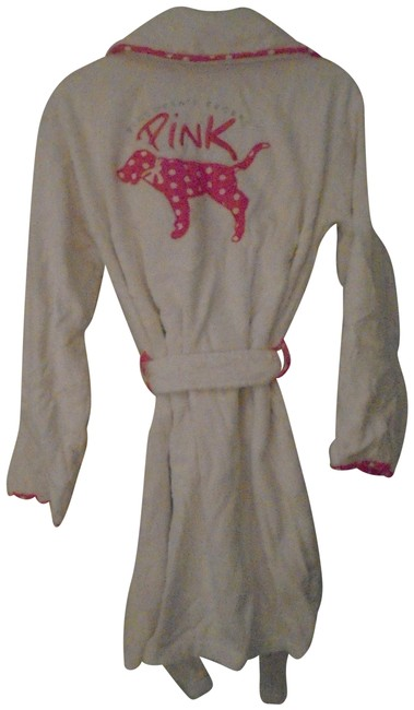 Item - Robe and Wrap Set White with Trim Top