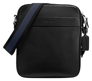 6dd8e8a9b4f0 Coach F54782 Leather Crossbody black Messenger Bag