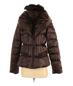 1 Madison Down Faux Fur Belted Jacket Winter Coat