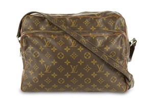 049dfa206c71 Louis Vuitton Atlantis Handbag Monogram Pm Brown Canvas Satchel ...