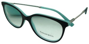 Tiffany & Co. New TIFFANY & CO. Eyeglasses TF 2168 8055 54-17 140 Black Blue Silver
