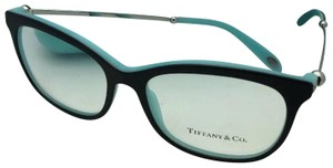 Tiffany & Co. New TIFFANY & CO. Eyeglasses TF 2157 8055 54-16 140 Black Blue Silver