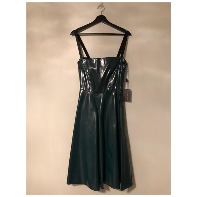 Item - Green New Flare Short Cocktail Dress Size 8 (M)