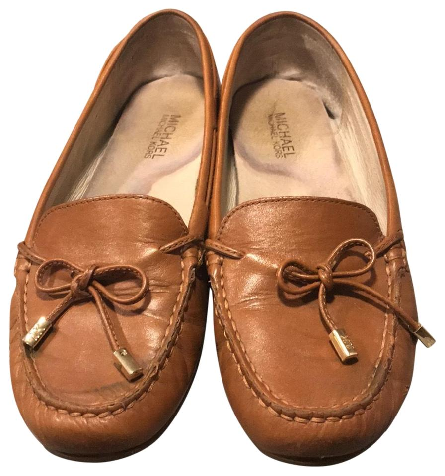 24f06e89fec6d Michael Kors Brown Mk Formal Loafers Flats Size US 8 Regular (M