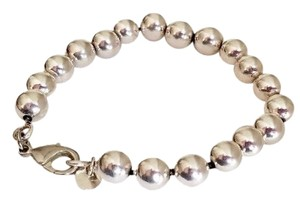 "Tiffany & Co. Silver Ball Bead 8"" Bracelet Hardware Collection"