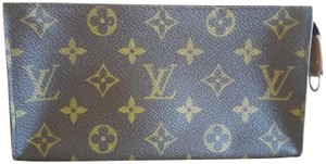 Louis Vuitton Apple Iphone Samsung Android Wristlet Classic Brown Monogram Purse Clutch