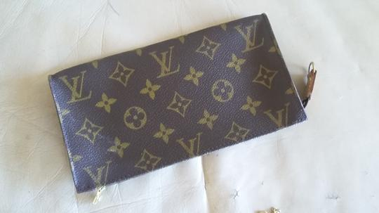 Louis Vuitton Apple Iphone Samsung Android Wristlet Classic Brown Monogram Purse Clutch Image 2