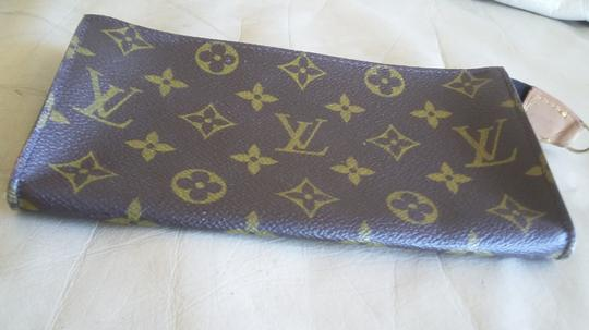 Louis Vuitton Apple Iphone Samsung Android Wristlet Classic Brown Monogram Purse Clutch Image 6