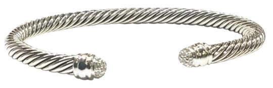 Preload https://img-static.tradesy.com/item/24538782/david-yurman-sterling-silver-dome-pave-diamond-cuff-5mm-sterling-silver-026-carat-pave-diamonds-size-0-1-540-540.jpg
