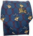 Burberry Vintage Burberry's Hand Made Italy * Horn Ribbon * Pure Silk Tie Necktie Image 0
