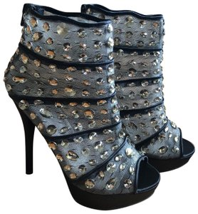 Wild Pair Black with crystals Boots
