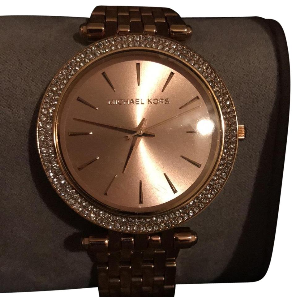 1727f6476883 Michael Kors Rose Gold Darci Watch - Tradesy