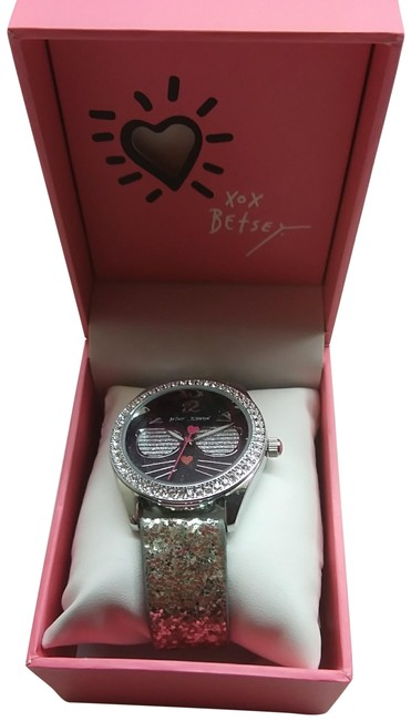Item - Silver New Black Cat with Shades Watch