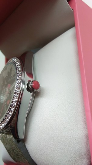 Betsey Johnson Betsey Johnson New Black Cat with Silver Shades Watch Image 2