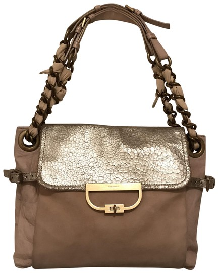 Preload https://img-static.tradesy.com/item/24539027/mulberry-rare-distressed-beige-silver-leather-shoulder-bag-0-1-540-540.jpg