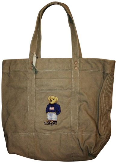 Preload https://img-static.tradesy.com/item/24539032/polo-ralph-lauren-teddy-bear-edition-gray-canvas-tote-0-1-540-540.jpg